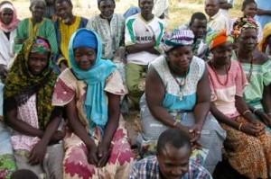 african village meeting