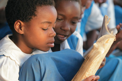 learning to read in africa